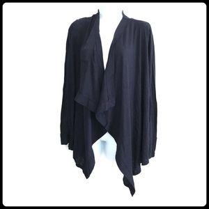 Twenty black open front cardigan, size XS